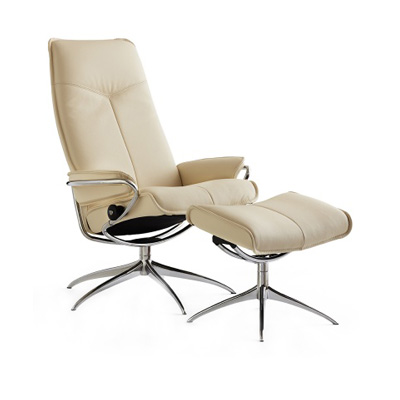 Stressless City Recliner - Cream