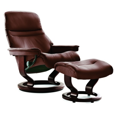 Stressless Sunrise Recliner - Brown