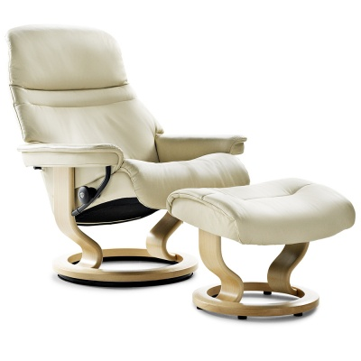 Stressless Sunrise Recliner - Cream